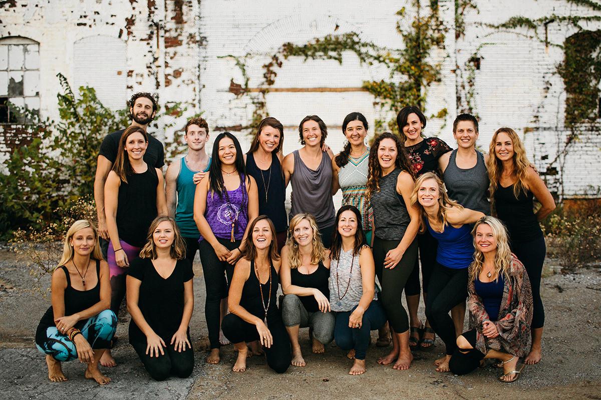 The Teachers of Yoga Landing
