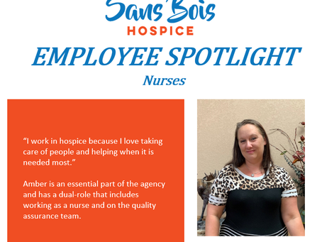 Employee Spotlight 10/08/2020