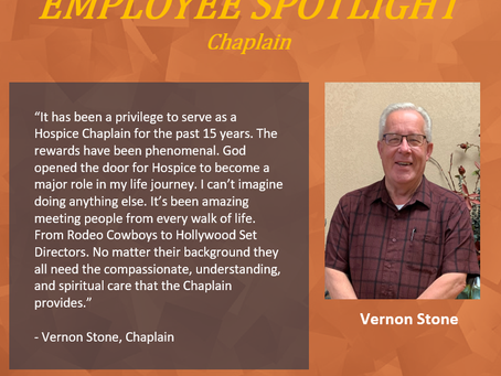 Employee Spotlight 09/08/2020
