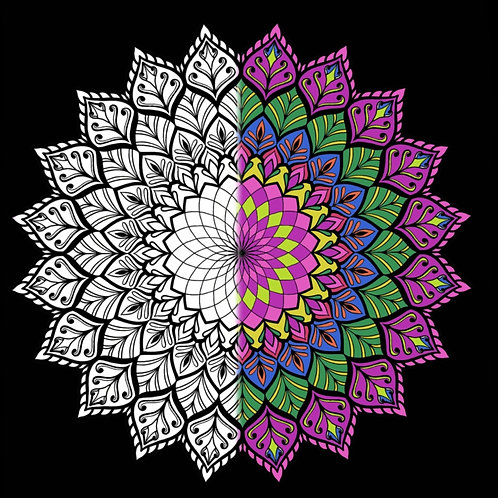 Mandala Coloring eBook