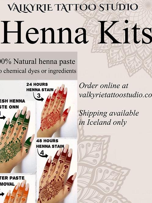 Henna Kit with Tea Tree essential oil