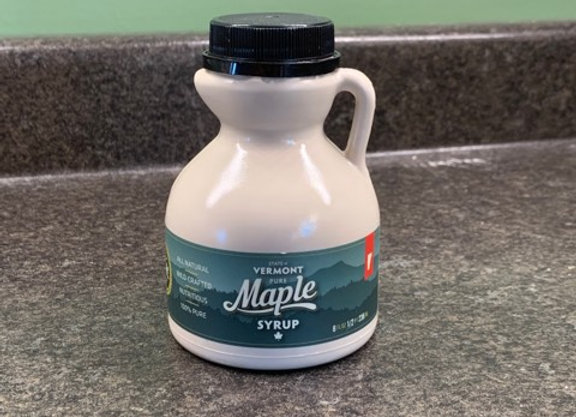Half Pint of Pure Vermont Maple Syrup