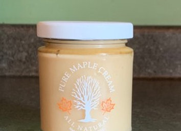 One Pound Maple Cream in a Jar