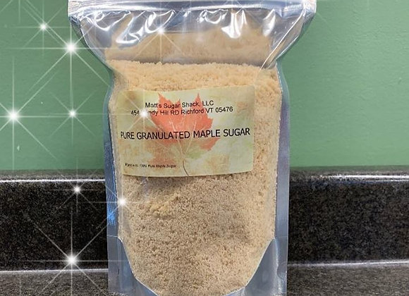 One Pound Pure Vermont Granulated Maple Sugar