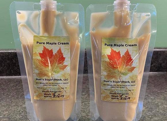 1/2 Pound Maple Cream In a Pouch