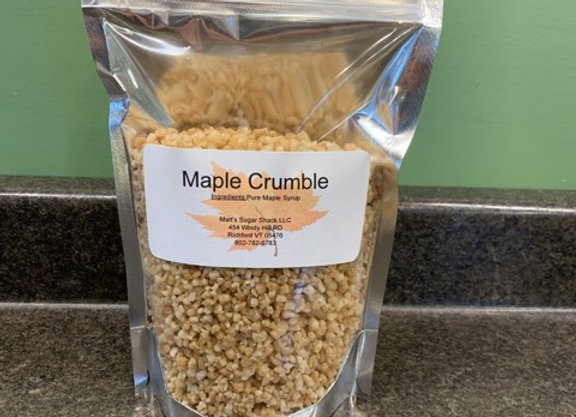 One Pound Maple Crumble