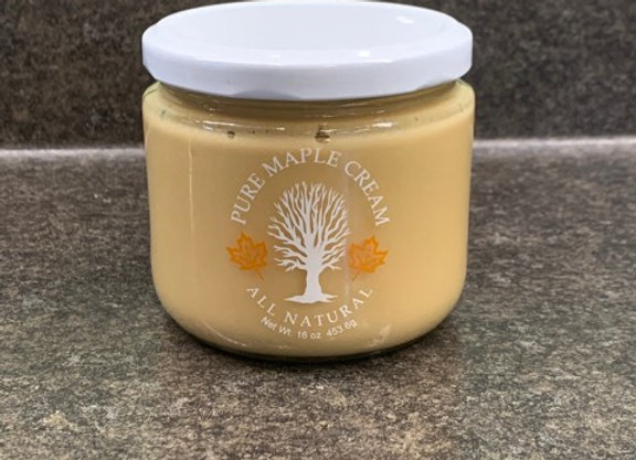 Half Pound Maple Cream in a Jar
