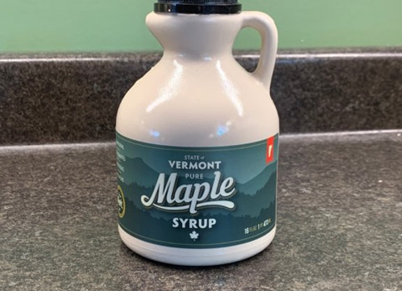 Pint of Pure Vermont Maple Syrup