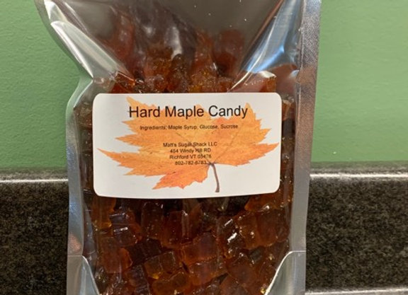 Maple Hard Candy Bears (1/2lb)