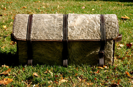 custom leather trunk