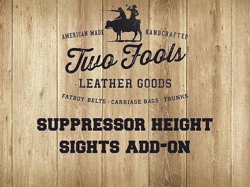 Add Suppressor Height Sights