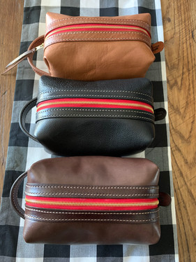 leather shaving kits