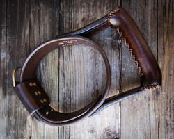 Seeing eye dog collar