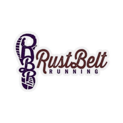 Rust Belt Running - Kiss-Cut Stickers