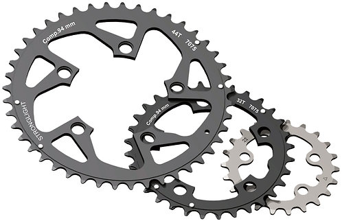 5-Arm/94mm Chainring: 34T With Pins