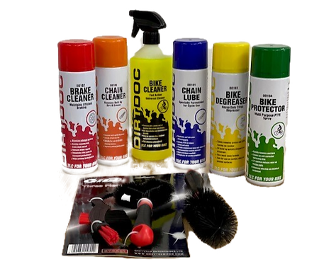 Complete Bicycle Care Kit
