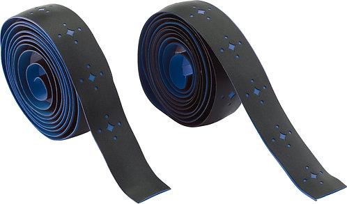 PU Eva Foam Handlebar Tape: Star / Black/Blue