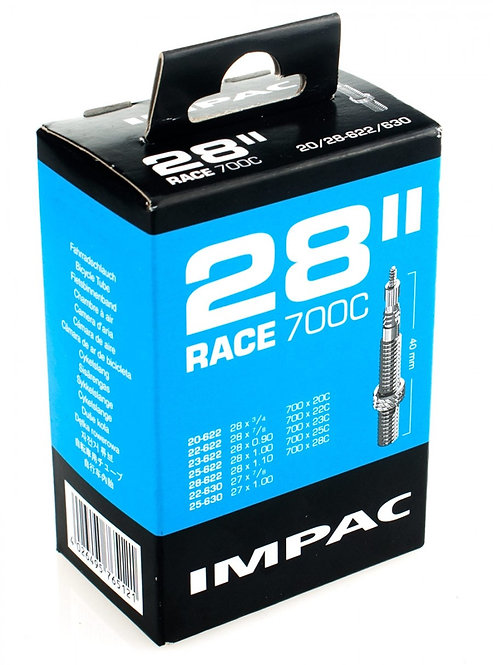 SV28 RACE 700c x 18-25 Inner Tube: 40mm Presta Valve