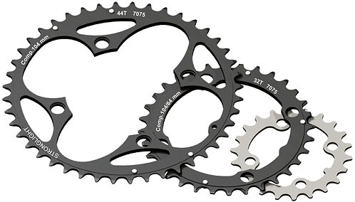 4-Arm/104mm Chainring: 44T With Pins