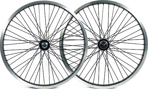 "Flair 20"" BMX Wheel: Black Front"