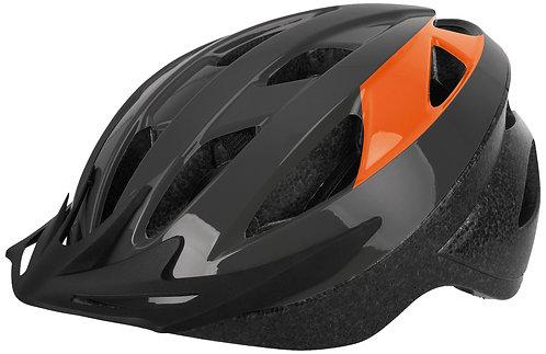Oxford Neat Helmet: Grey/Orange Large 58-62cm