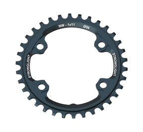 4-Arm/96mm Chainring: Shimano 30T