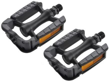 Anti-slip Kraton Top Plastic Pedals