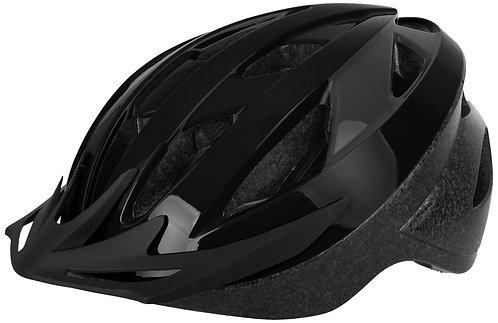 Oxford Neat Helmet: Black/Grey Medium 54-58cm