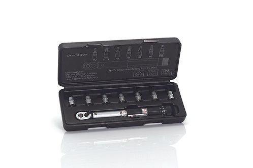 XLC TORQUE WRENCH 3-14NM WITH BITS