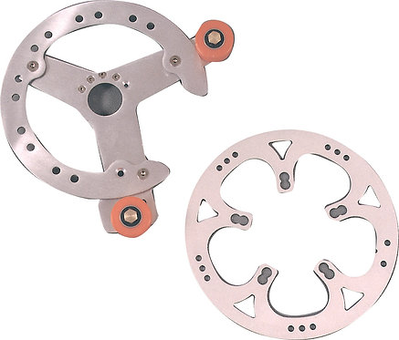 5-Arm Silver Chain Device