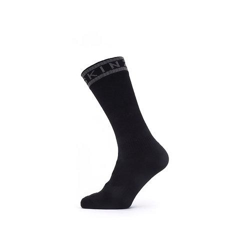 SEALSKINZ Waterproof Warm Weather Mid-Length Sock with Hydrostop
