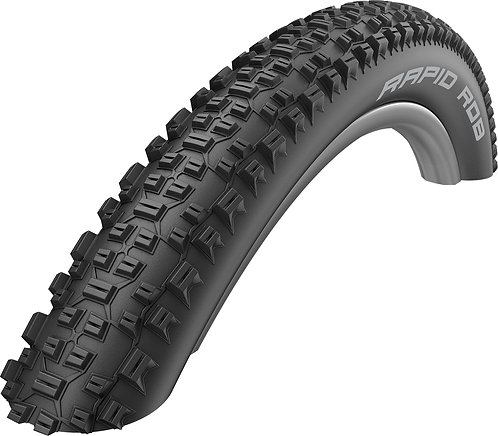 "Rapid Rob Tyre: 27.5"" x 2.25 Black Wire-On"