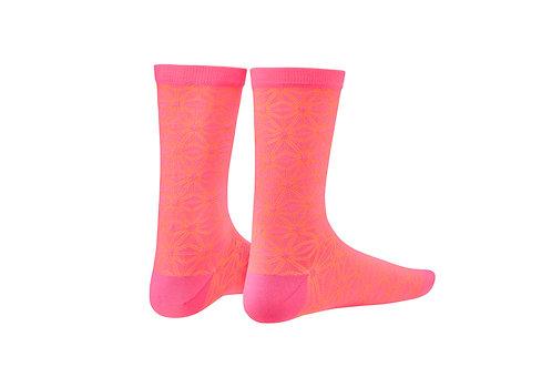 SupaSox Asanoha Pink & Orange - Socks