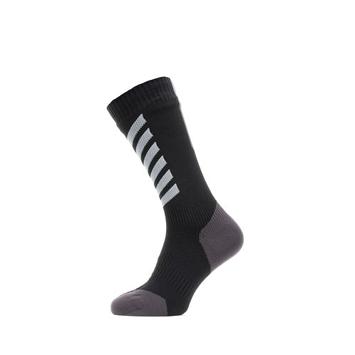SEALSKINZ Waterptoof All Weather Mid Length Sock with Hydrostop
