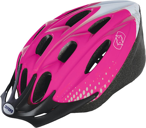 F15 Helmet: Pink/White Medium 54-58cm