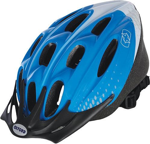 F15 Helmet: Blue/White Large 58-61cm