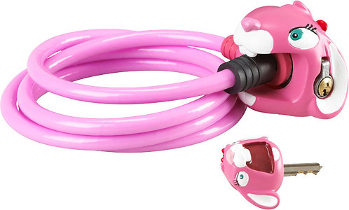 Cable Lock: Pink Bunny