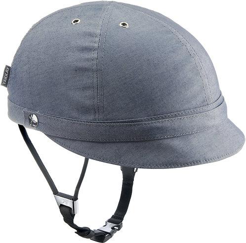 Milano Blue Denim Helmet Cover: Small (53-55cm)