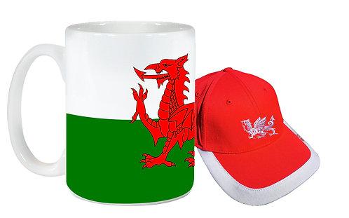 Wales Cap and Mug