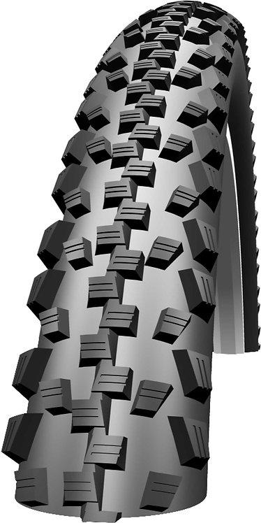 "Black Jack Tyre: 20"" x 1.90 Black Wired"