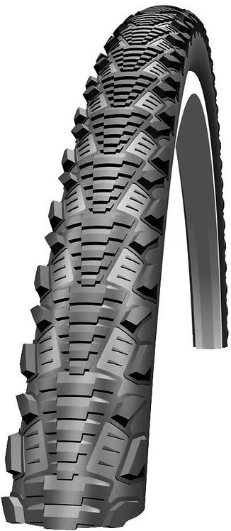CX Comp Tyre: 700c x 38mm Black Wired