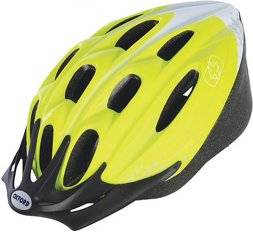 F15 Helmet: Fluro Yellow Medium 54-58cm
