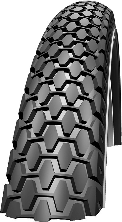 """Knobby Tyre: 20"""" x 2.00 Black Wired"""