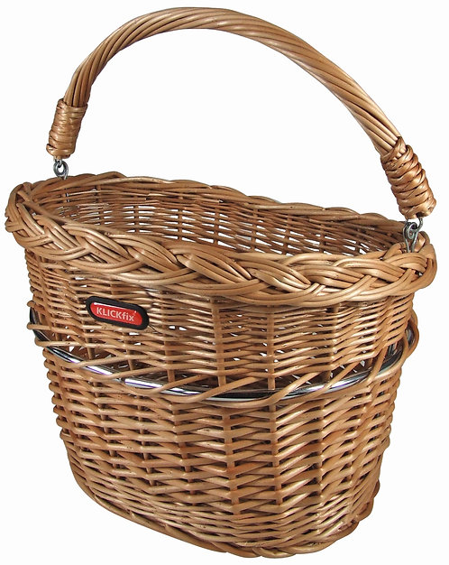 Mini Wicker Front Basket 0398MINI
