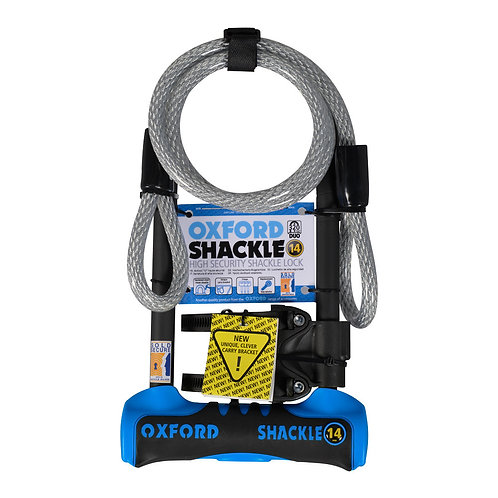 Shackle 14 DUO U-Lock: 320mm with 1200 x 12mm Cable