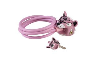 Cable Lock: Pink Leopard