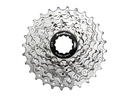Sunrace 9-Speed 11-28T Indexed Cassette