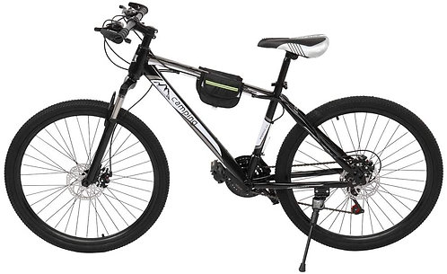 Ex Demo Unisex Adult Mountain Bike 26 inch 21-Speed Black
