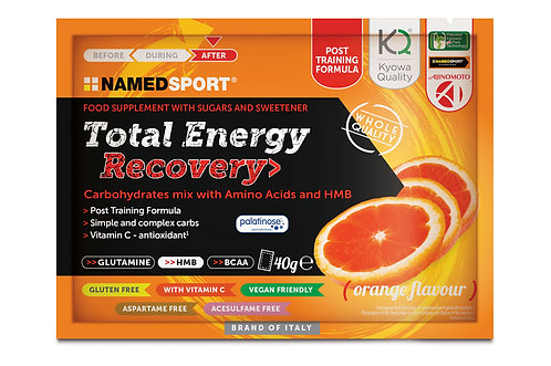 TOTAL ENERGY RECOVERY DRINK MIX Orange 16x40g Sachets