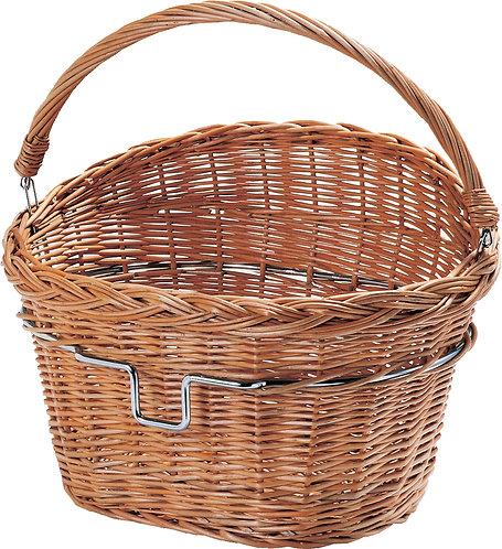 Wicker Front Basket 0398